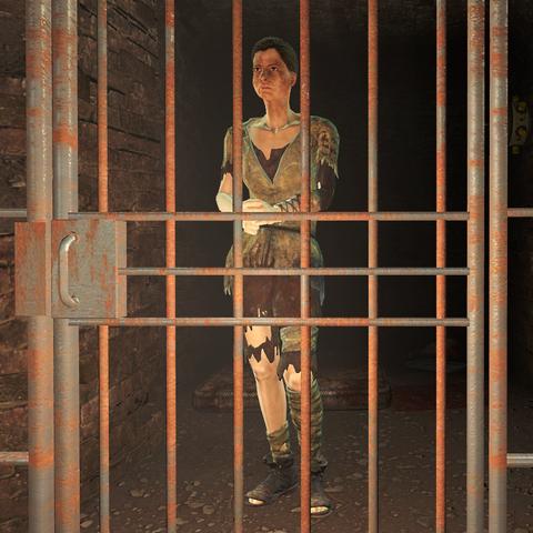 Амелія в камері Комплексу