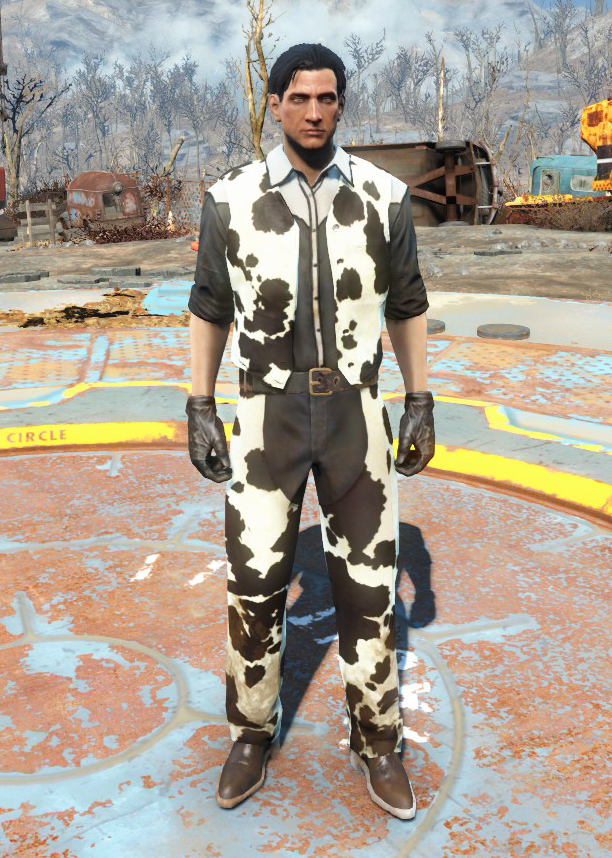 Cowhide western outfit (Nuka-World) | Fallout Wiki | FANDOM powered