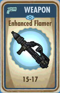 FoS Enhanced Flamer Card