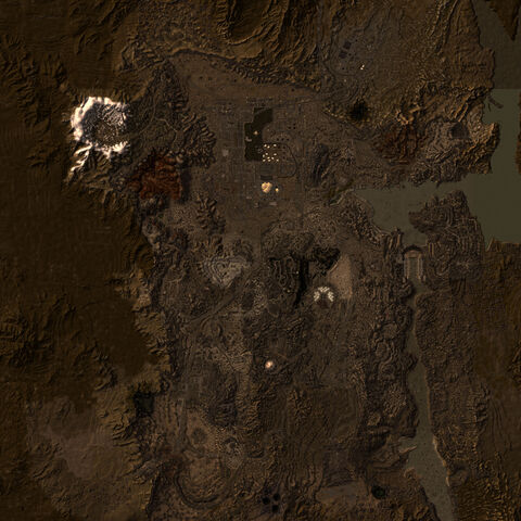 Mojave Wasteland map
