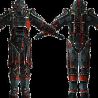 Силова броня Т-45d Ізгоїв, силова броня Клена