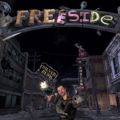 A pre-release shot of Freeside