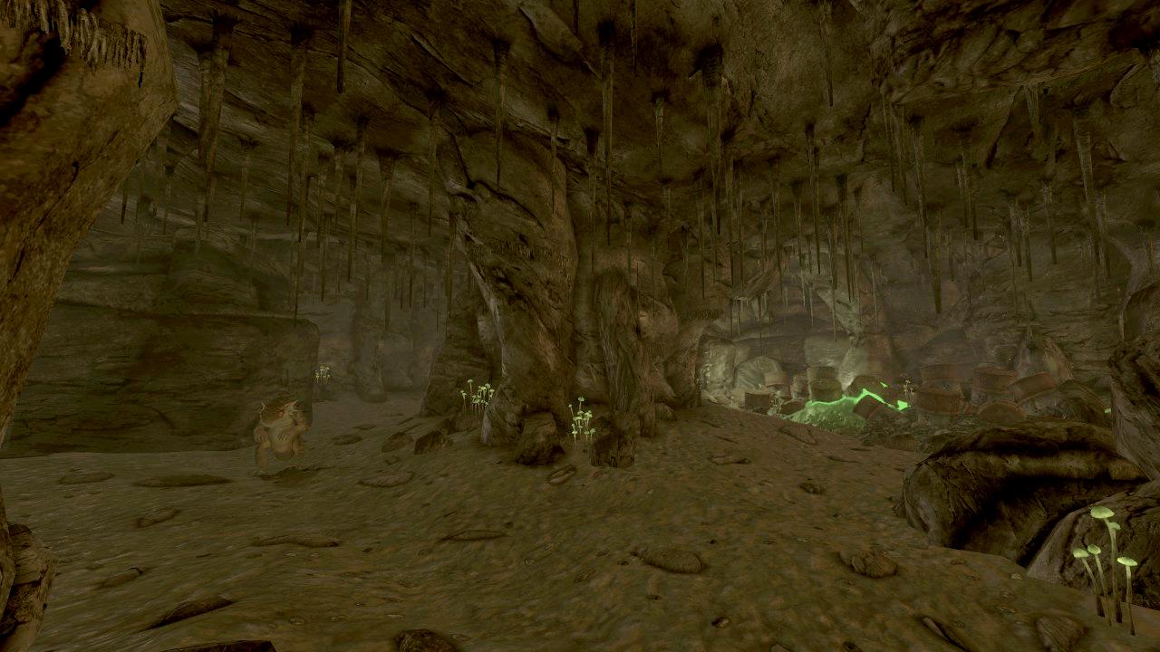 Vault 34 cave