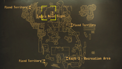Zapp's Neon Signs map