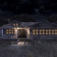 Будинок вночі