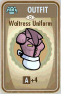 FoS Waitress uniform Card