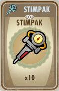 10 Stimpacks card