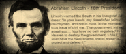 FO3 signboard Abraham Lincoln