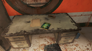 FO4 Tesla Science Magazine in General Atomics Factory