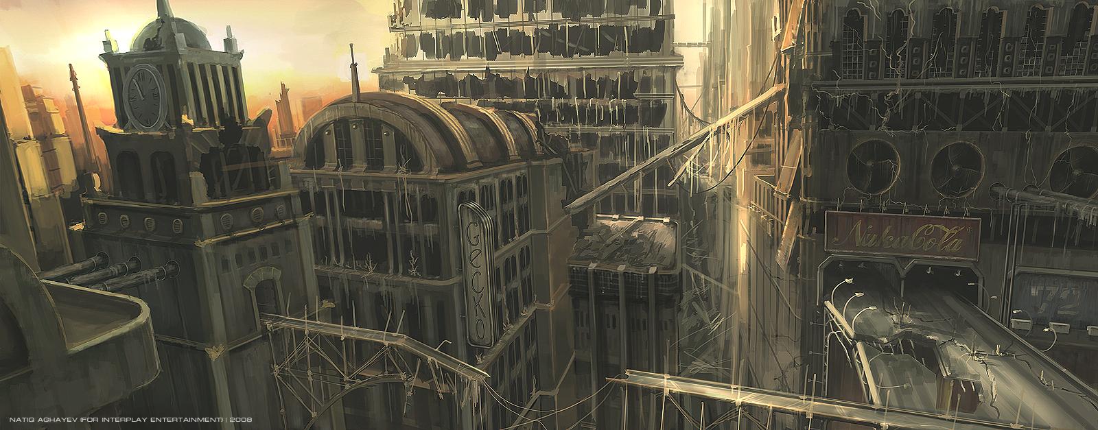 Fallout 3 The Pitt Concept Art