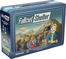 Fallout Shelter Board Game Box