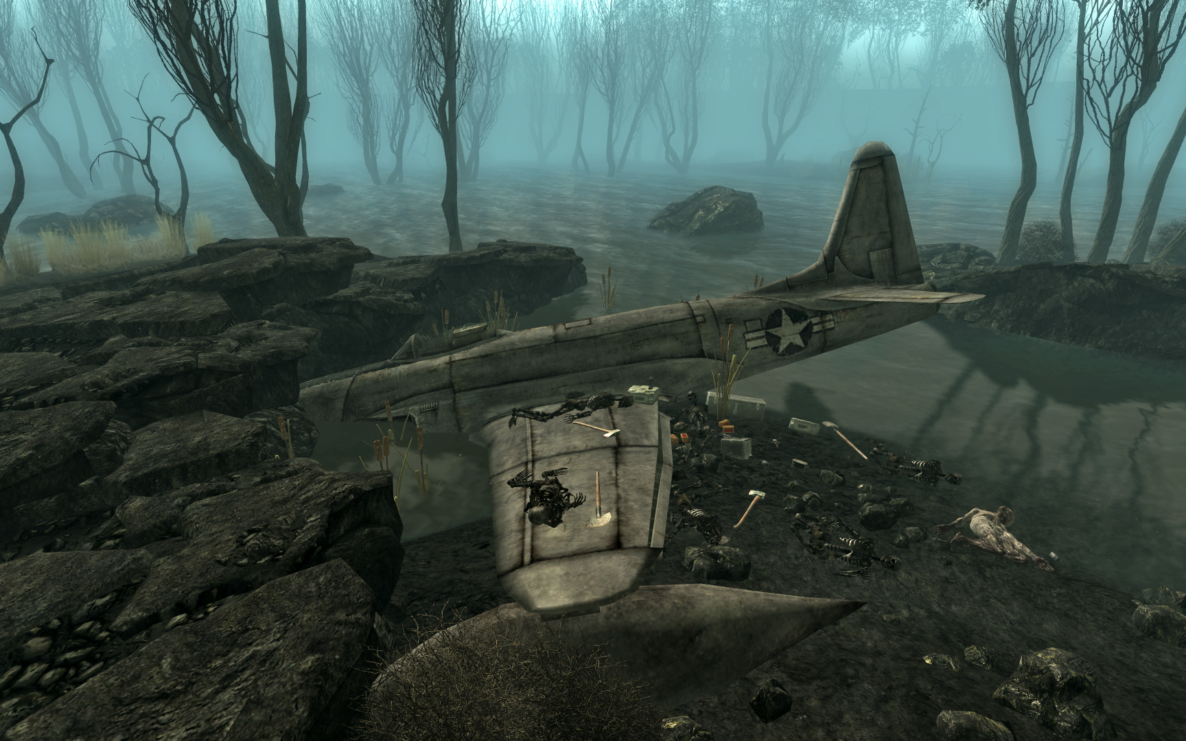 Jet Crash Site Fallout Wiki Fandom Powered By Wikia