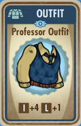 FoS Professor Outfit Card