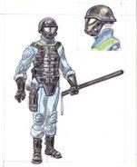 Vault security armor CA2