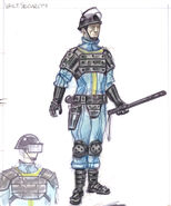 Vault security armor CA3