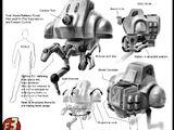 Agricola mining robot