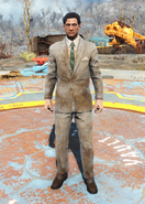 Fo4Dirty Tan Suit male