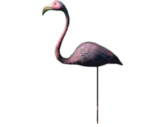 Fo4 Lawn Flamingo
