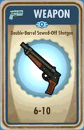 FoS Double-Barrel Sawed-Off Shotgun Card