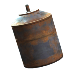 Industrial oil canister
