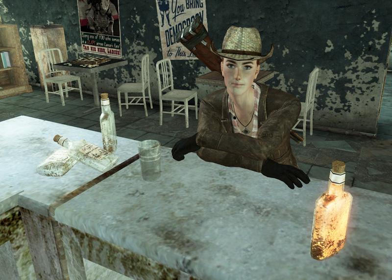 Cass at the bar
