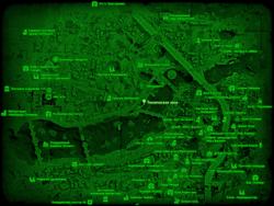 FO4 Техническая зона (карта мира)