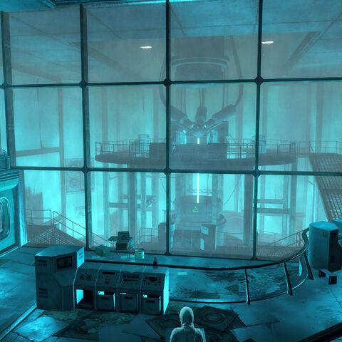 Приміщення Головного реактора «Мас ф'южн»