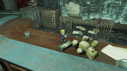 FO4 Small Guns Vault-Tec bobblehead in Gunners Plaza