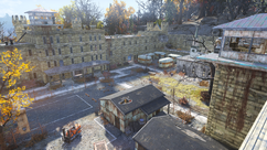 FO76 Eastern Regional Penitentiary from north