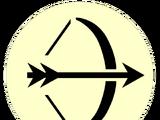 Значок головастиков: лучник