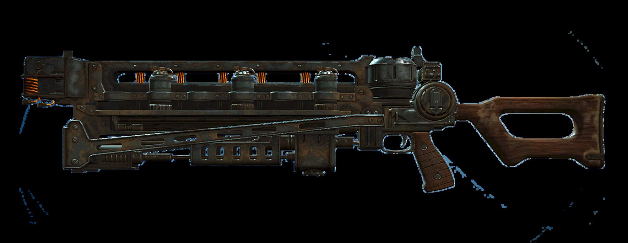 Gauss rifle (Fallout 4)   Fallout Wiki   FANDOM powered by Wikia