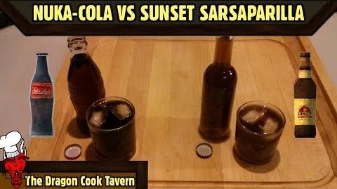 Nuka-Cola VS Sunset Sarsaparilla - Fallout - The Dragon Cook Tavern