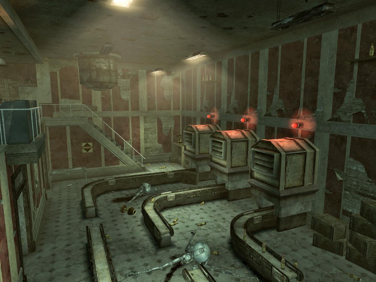 SS HQ factory floor