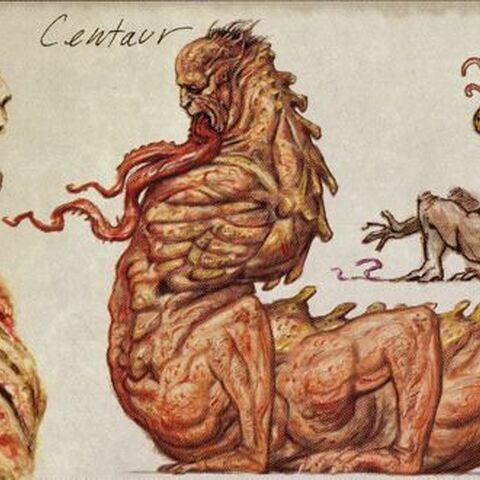 <i>Fallout 3</i> centaur concept art.