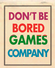 Don't Be Bored Games Company (logo)