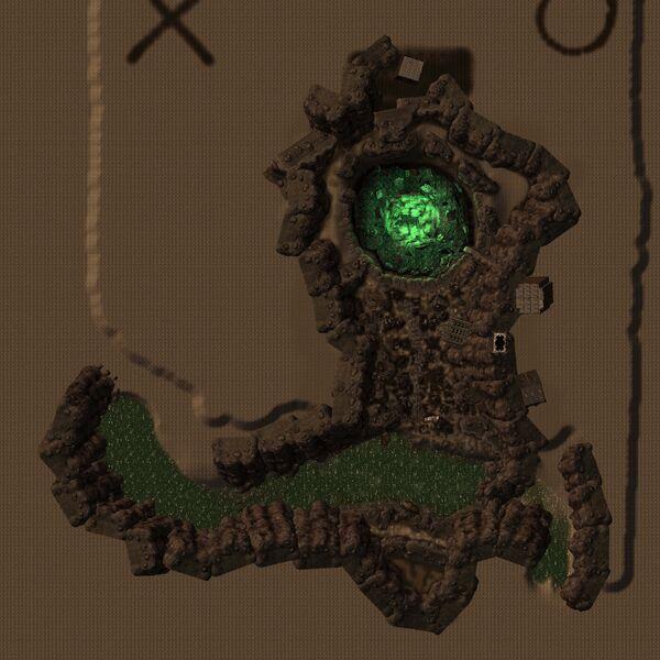 Dry Wells map