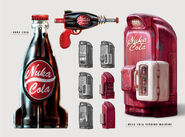 FO4 Art of Fo4 NukaCola Fridge concept art