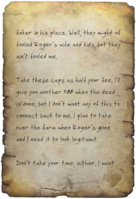 FO4 Bill's Letter Note 2