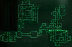 FO3 Vault87a map