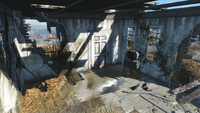 FO4 Coastal Cottage Blue House