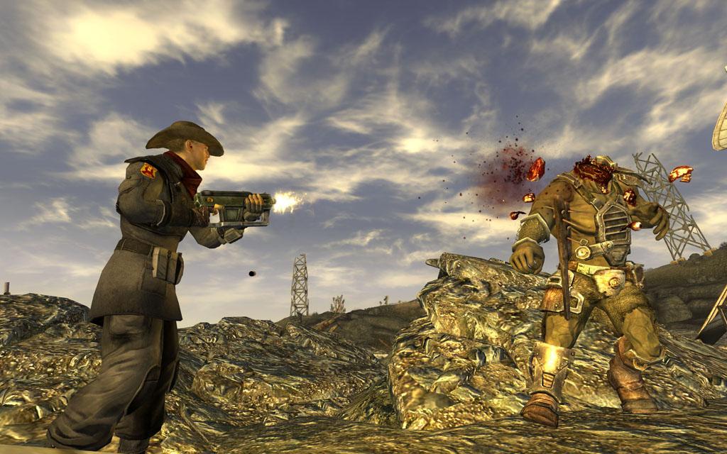 Fallout new vegas submachinegun