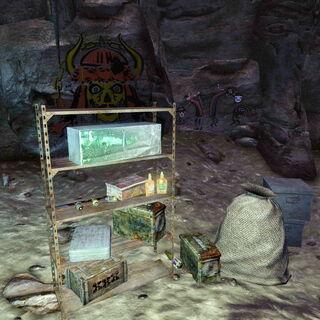 Припаси Великих ханів з печери-складу з лігвом нічних мисливців
