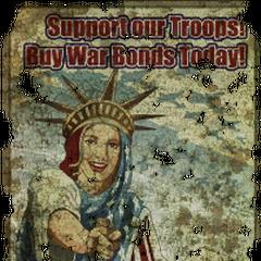 «Підтримай нашу армію! Купи облігації військових позик сьогодні!»