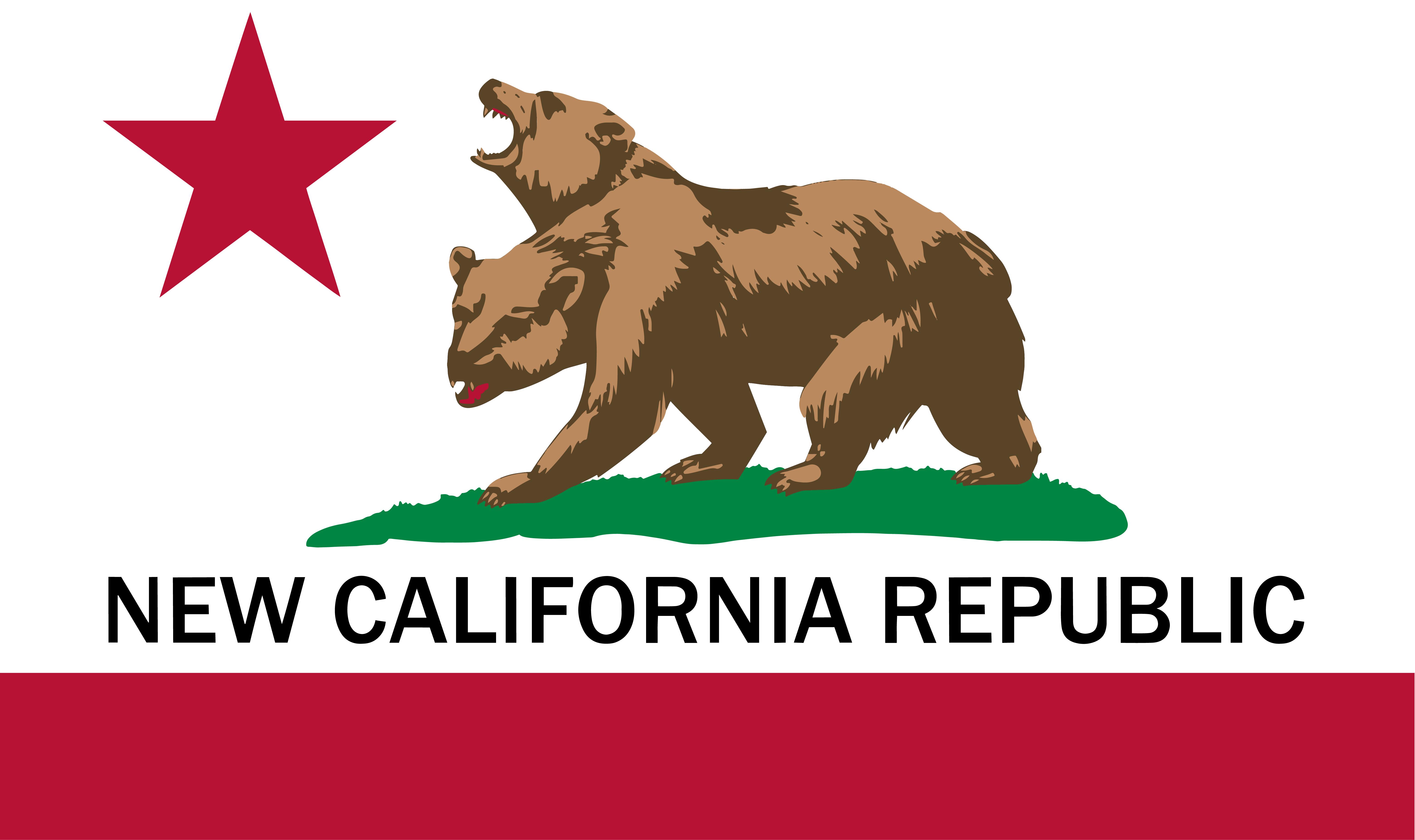 Propaganda Political California State Flag Bear Republic Framed Print