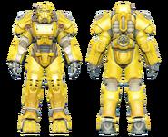 FO4CC T-60 power armor yellow