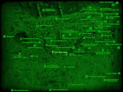 FO4 Саут-Фенс-тауэр (карта мира)