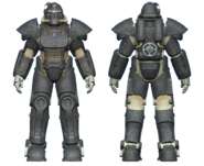 FO4 T-51 power armor railroad