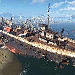 Stern ship