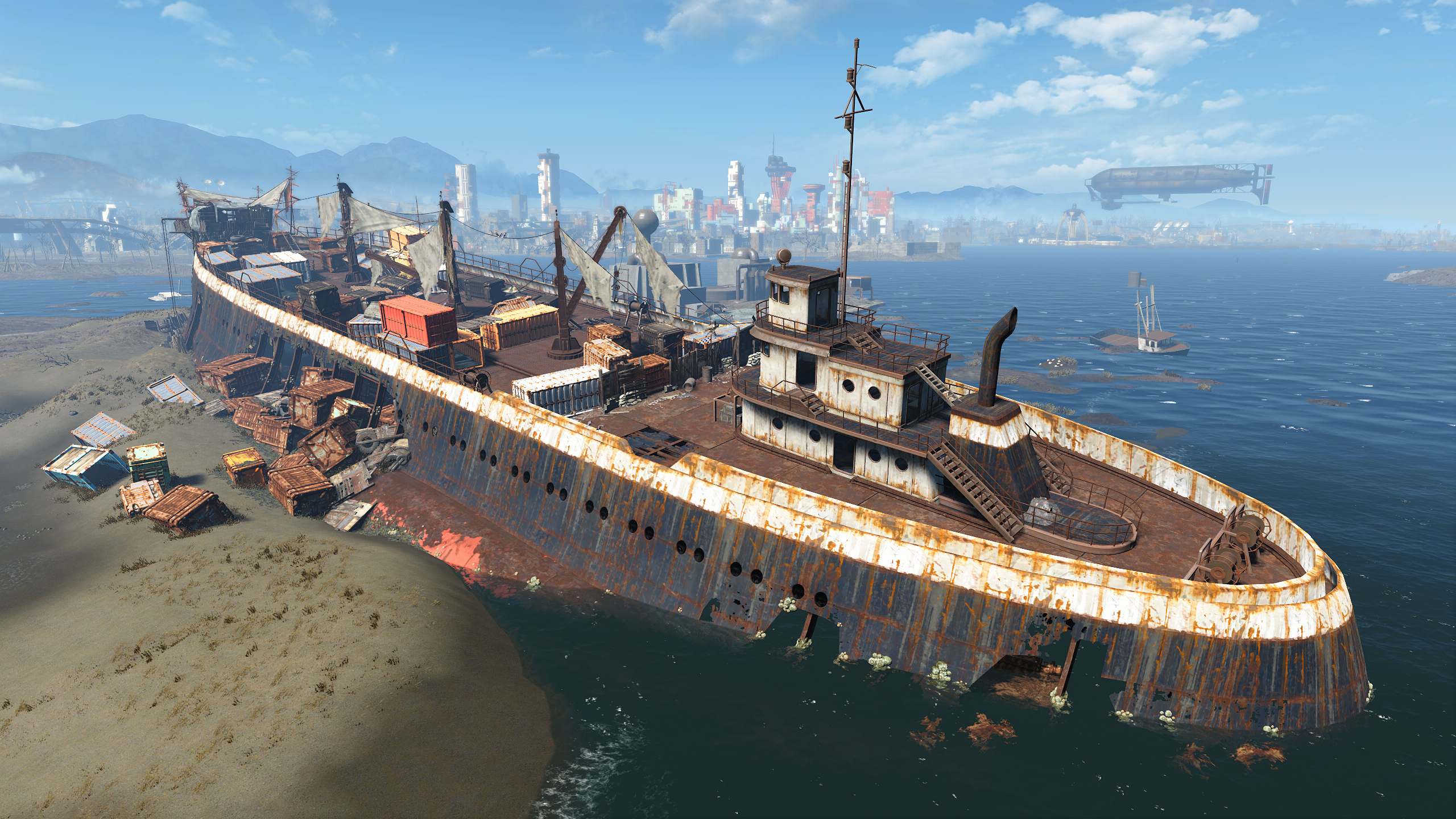 FO4 Wreck of the FMS Northern Star (2)