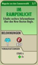 FOS Quest - Info - Im Rampenlicht - vorne